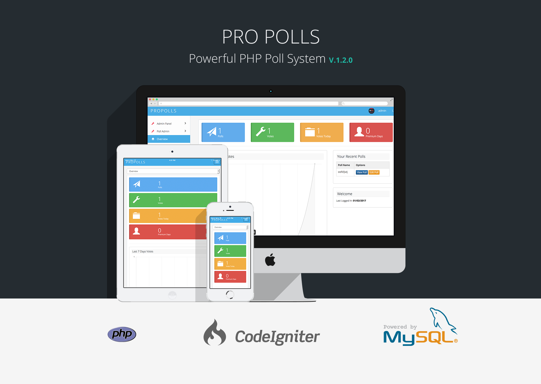 pro polls php poll vote script by patchesoft codecanyon. Black Bedroom Furniture Sets. Home Design Ideas