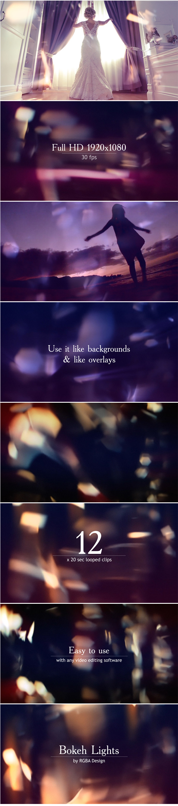 Bokeh Lights Backgrounds