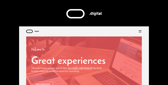 O Digital - Creative Portfolio Muse Template