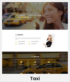 Taxi WordPress theme
