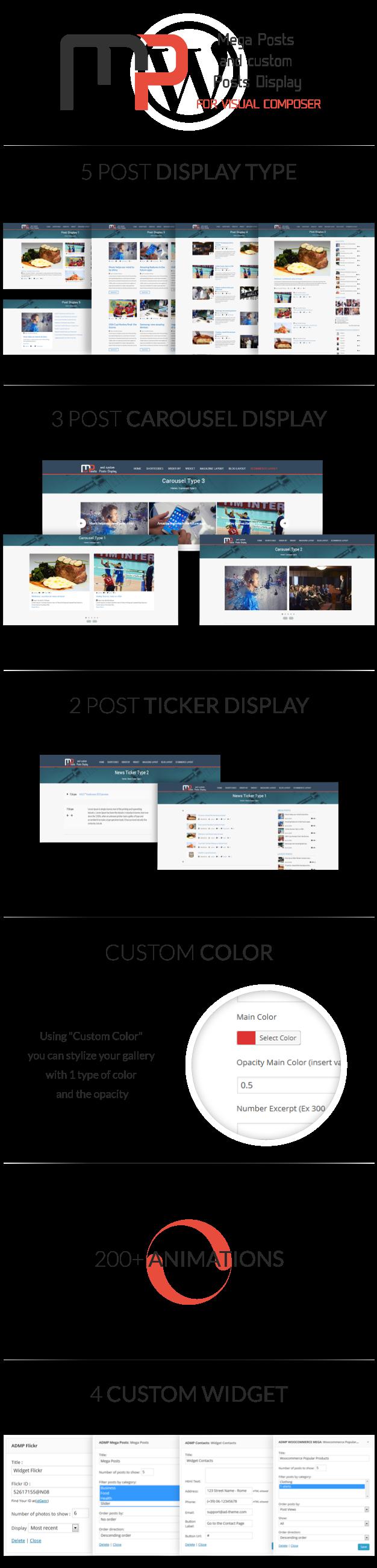 Mega Posts Display for Visual Composer - 1