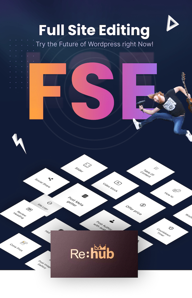 FSE theme for full site editing