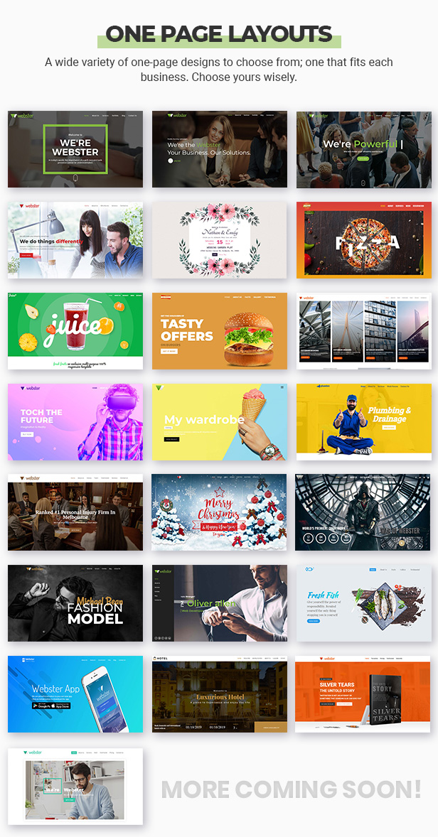 Webster - Responsive Multi-purpose HTML5 Template - 9