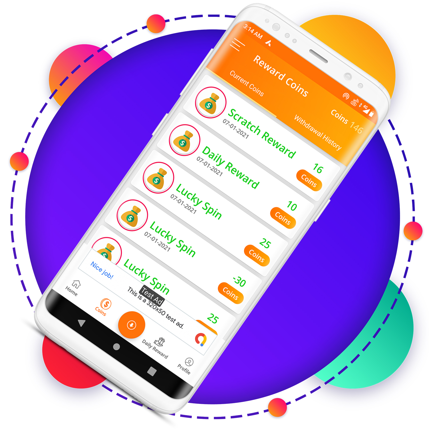 QuickCash All In One Money Earning Android App + Games + WhatsApp Tools + Earning System Admin Panel - 4