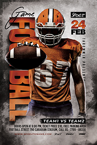 97-Football-game-flyer