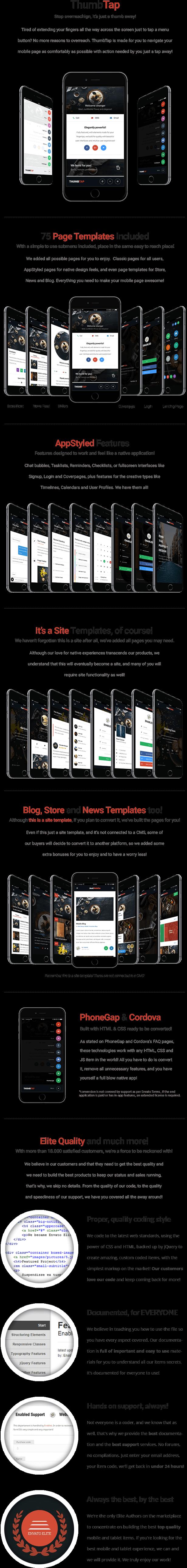 ThumbTap Mobile   Mobile Template - 8