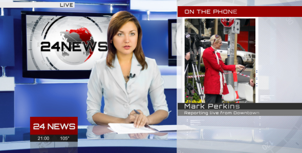 Broadcast Design - Complete News Package 2 - 8