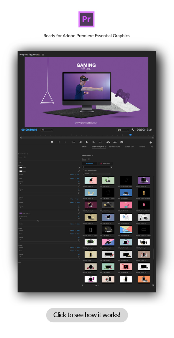 Still Life Toolbox AE & Premiere Pro Mogrts - 8