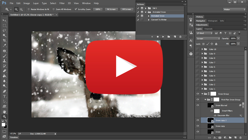 how to add video behind letters different layers after effects