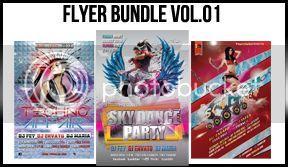 Futuristic Party Flyer Vol.06 - 7