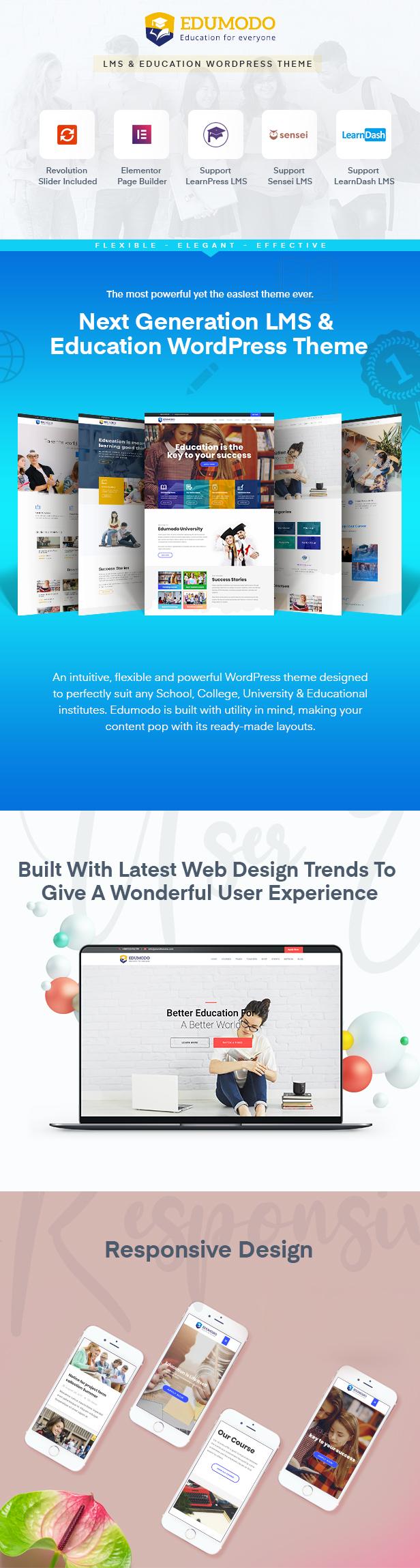 Edumodo v3.4.0-教育WordPress主题插图6