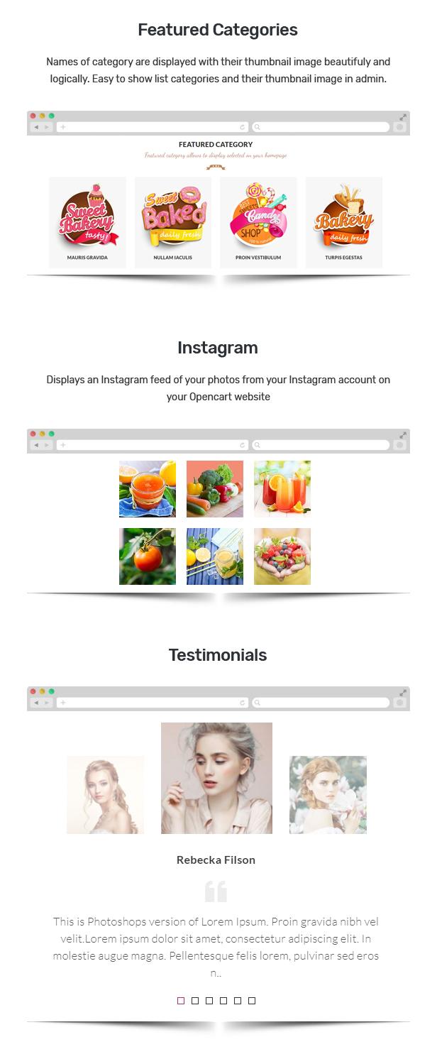 Alista - Responsive OpenCart Theme