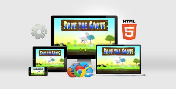 Salve as Cabras - HTML5 - CodeCanyon Item para Venda
