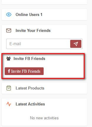 Facebook Invite Addon For WoWonder - 4