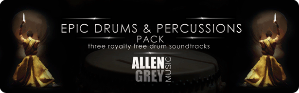 Epic Drums & Percussions Pack - 1