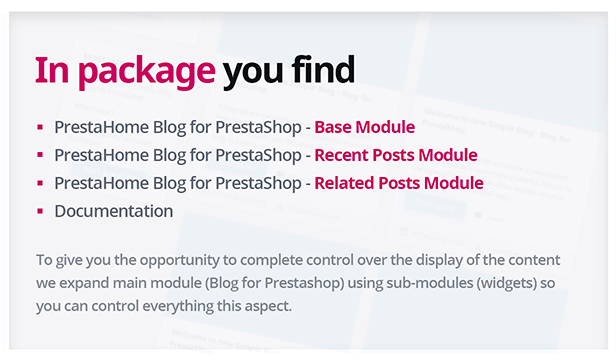 Blog for PrestaShop - 4