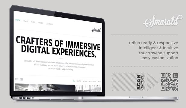 Smarald: Retina Ready Responsive WordPress Theme - 6