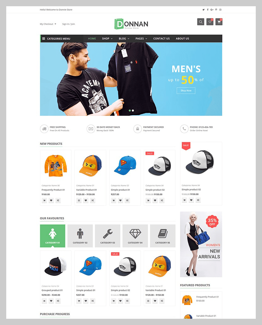VG Donnan - Multipurpose Responsive WooCommerce Theme - 11