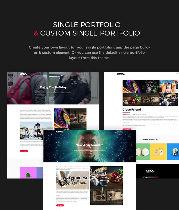 Cimol - Responsive One Page & Multi Page Portfolio Theme - 5