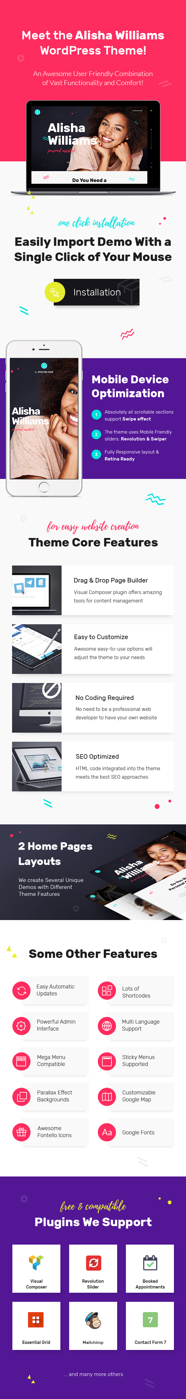 A.Williams | A Personal Assistant & Administrative Services WordPress Theme - 2