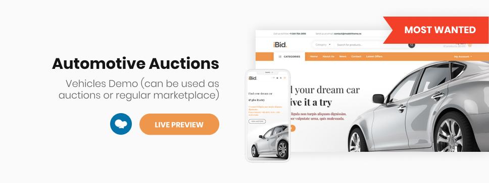 iBid - Multi Vendor Auctions WooCommerce Theme - 3