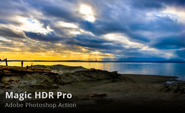 Magic HDR Pro Photoshop Action