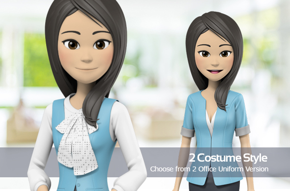 Presentation With Cathy: Office Uniform - 2