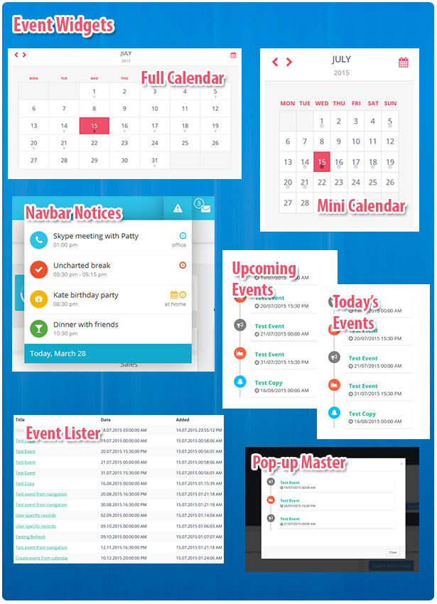 Event Calendar Php : Caledonian pro php event calendar by thunderfury codecanyon