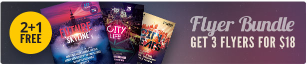 City Party Flyer Bundle