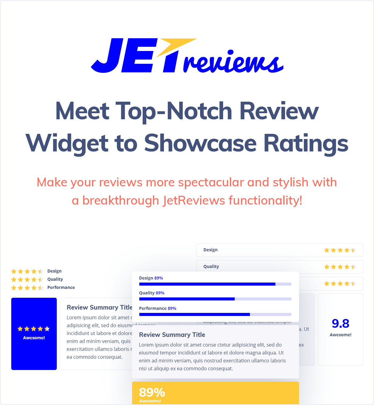 JetReviews - Reviews Widget for Elementor Page Builder - 1