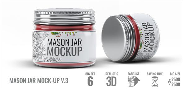 Mason Jar Mock-Up V.1 - 3