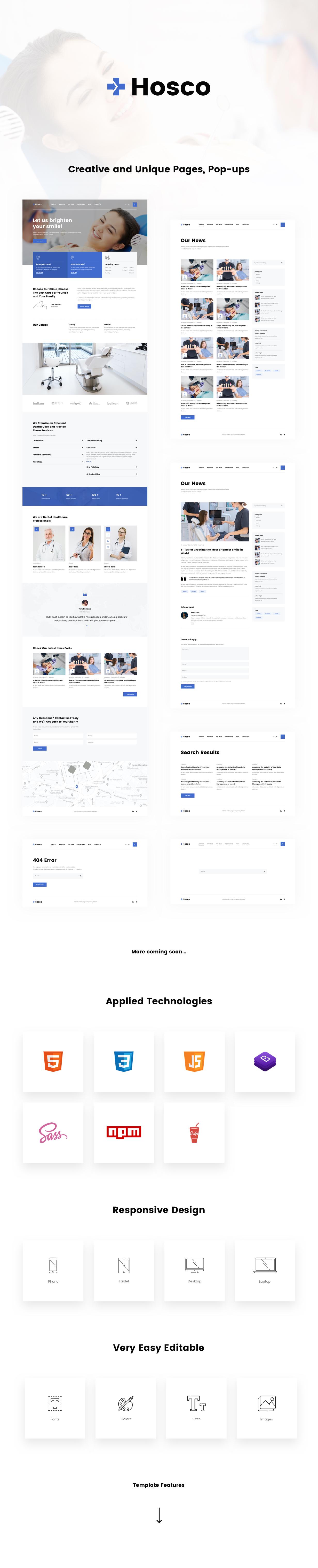 Hosco HTML Presentation