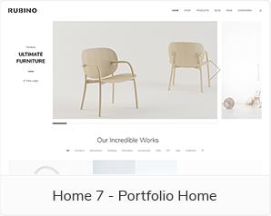 Home 7 - Portfolio Home