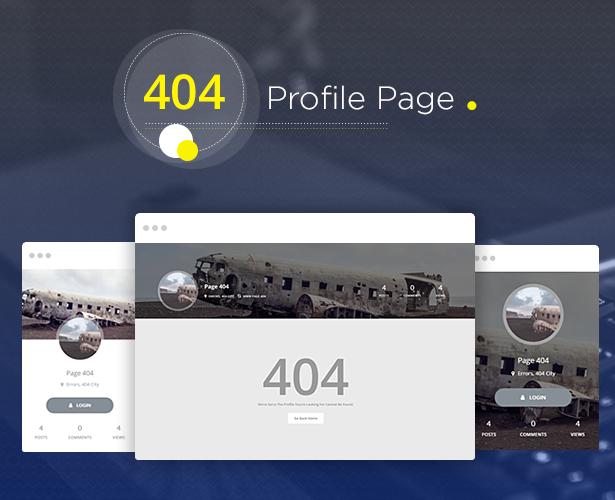 Youzer Profile 404