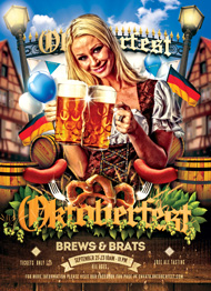 Design Cloud: Oktoberfest Vol 2 Flyer Template