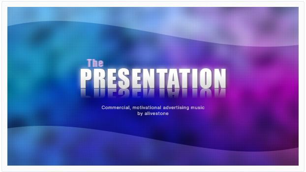 presentation commercial advert music