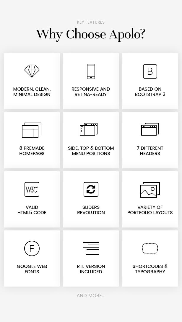 APOLO - Premium Portfolio HTML Template - 2