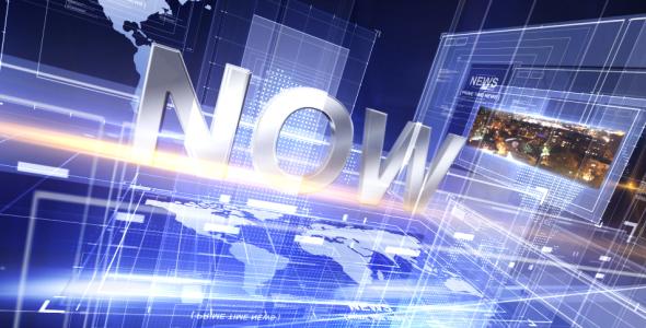 Broadcast Design - Primetime News Open - 2
