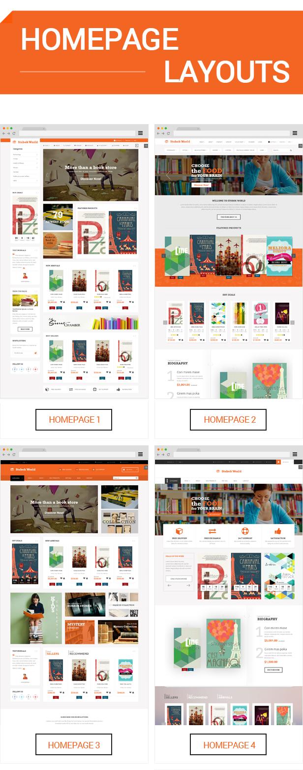 StoBok - Homepage