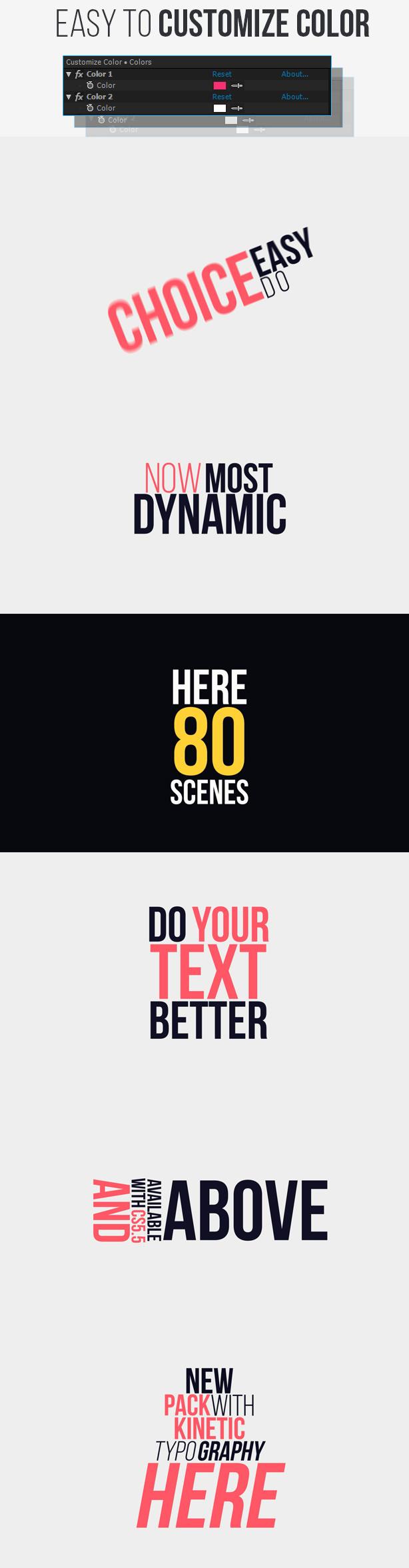 Big Typography Pack - 7
