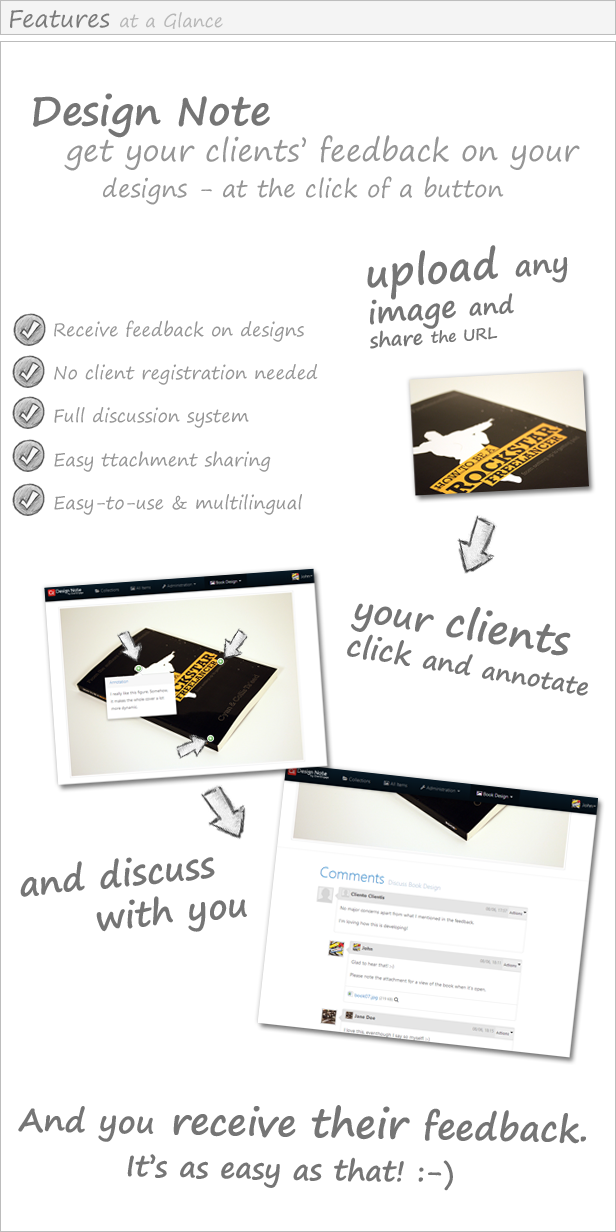 Functionality Description of ClientEngage Design Note