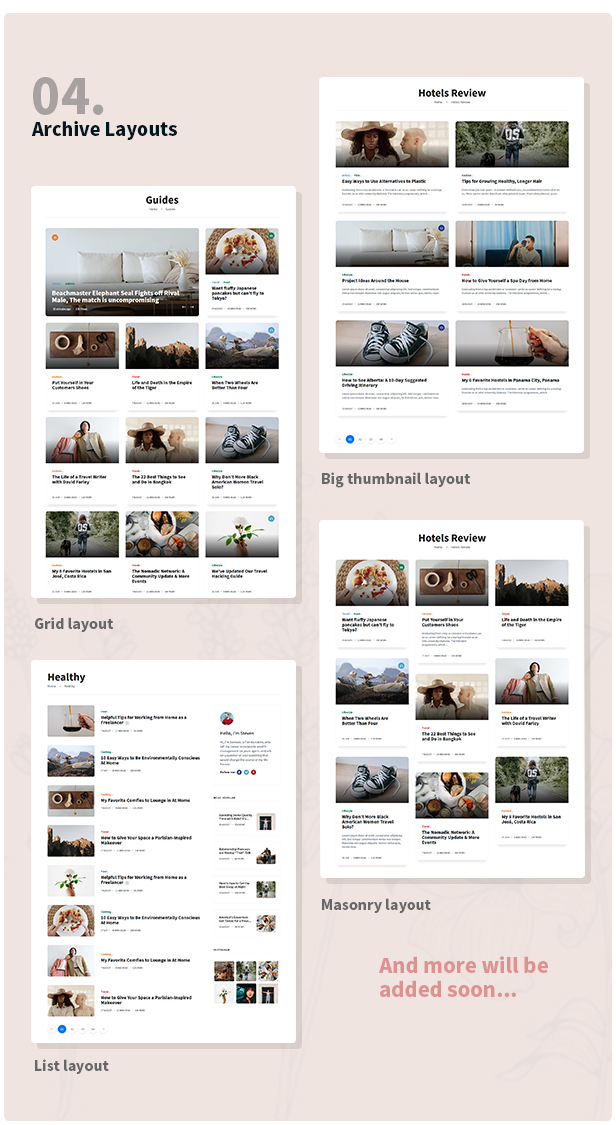 Stories - Personal Blog HTML Template - 4