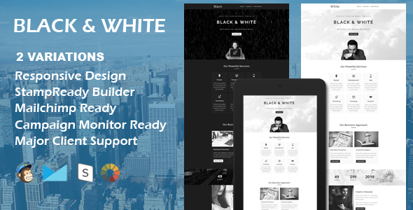 Ray - Multipurpose Responsive Email Template With Stamp Ready Builder Access - 2