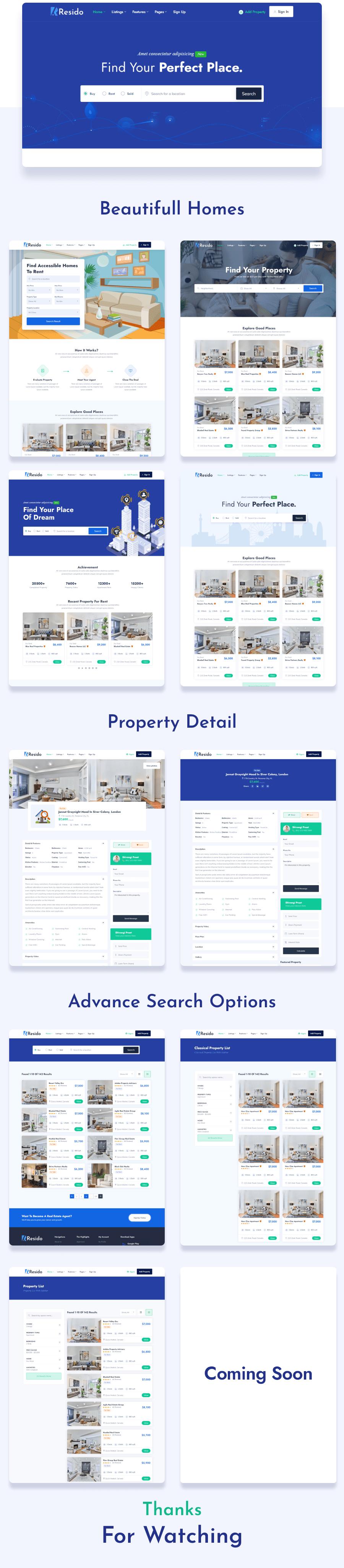 Resido - Real Estate WordPress Theme - 2