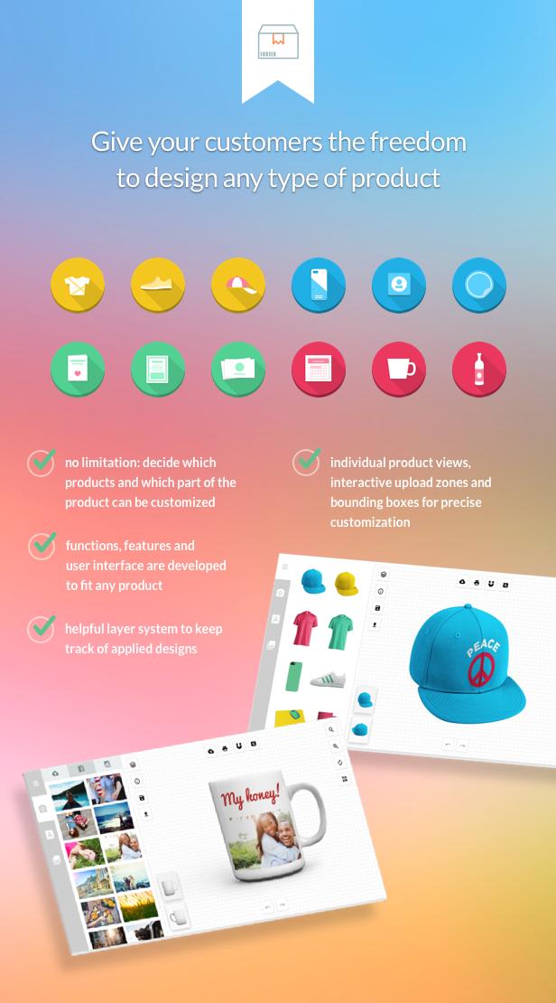 Fancy Product Designer | WooCommerce WordPress - 3