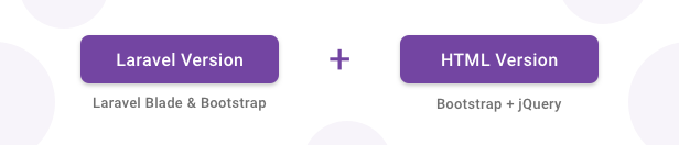 Gull - Laravel + Bootstrap Admin Dashboard Template - 1