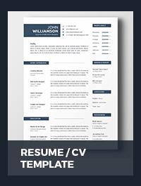 Resume Template - 26