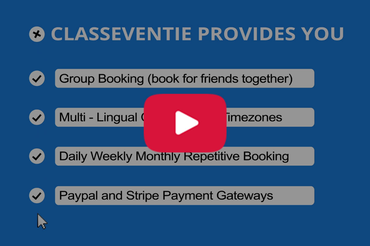 Classeventie - Online Classes & Events Booking - 5
