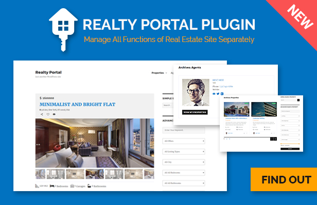 Realty Portal - WordPress Plugin