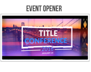 Event Opener - 8
